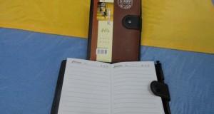 دفترچه یادداشت چرمی خودکار دار بزرگ و کوچک
