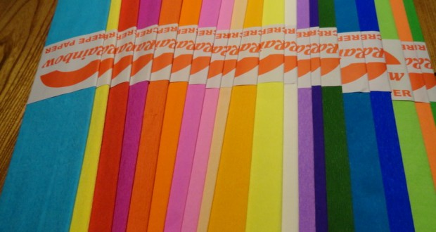 کاغذ کشی ده رنگ